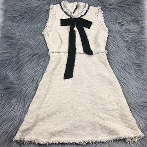 Zara Womens Size Xs beige dress size xs